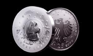 """25 Euro Münze """"Weihnachten"""""""